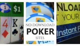 NO Download Online Poker for April 2021 (Trusted Sites)