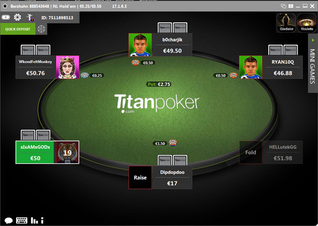 Titan Poker Software