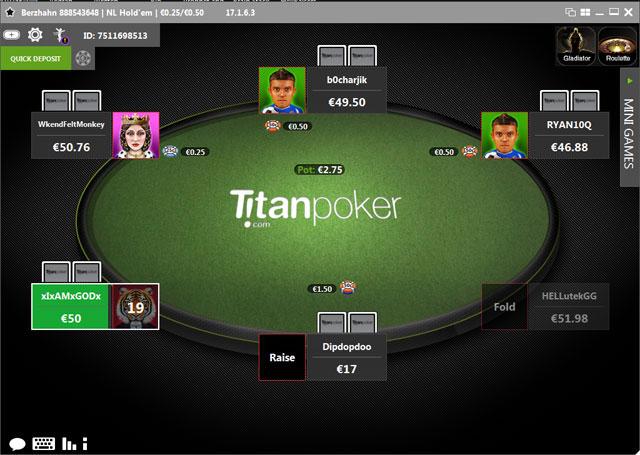 Titan Poker Software