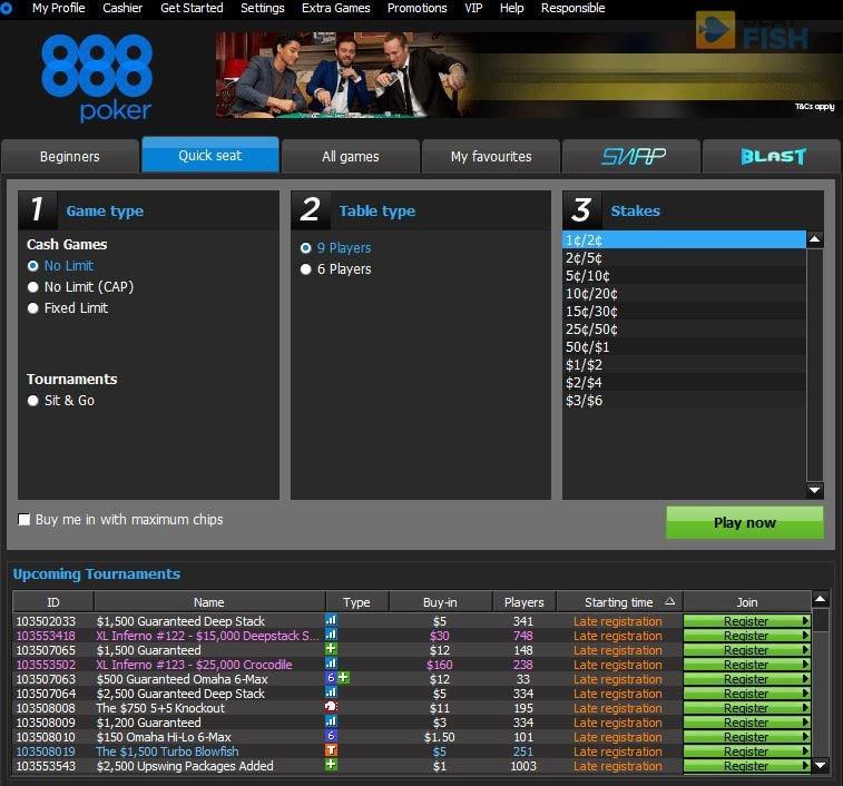 888 Poker Gallery 8