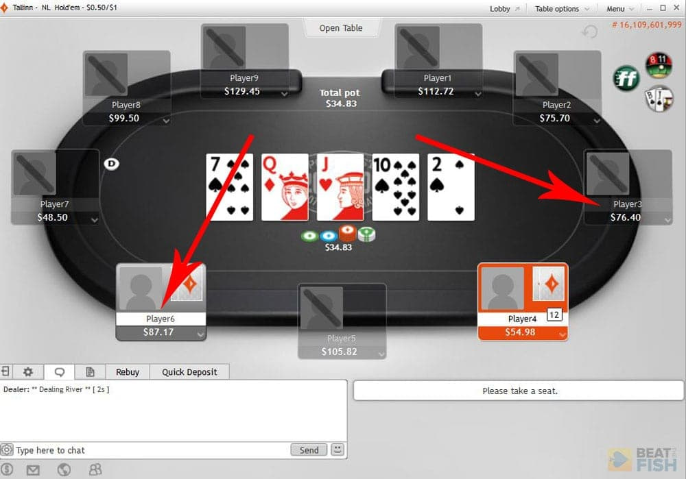Partypoker Anonymous Table