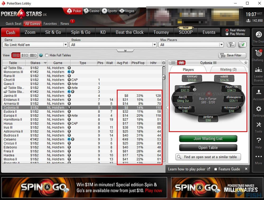 PokerStars HUDs Accepted