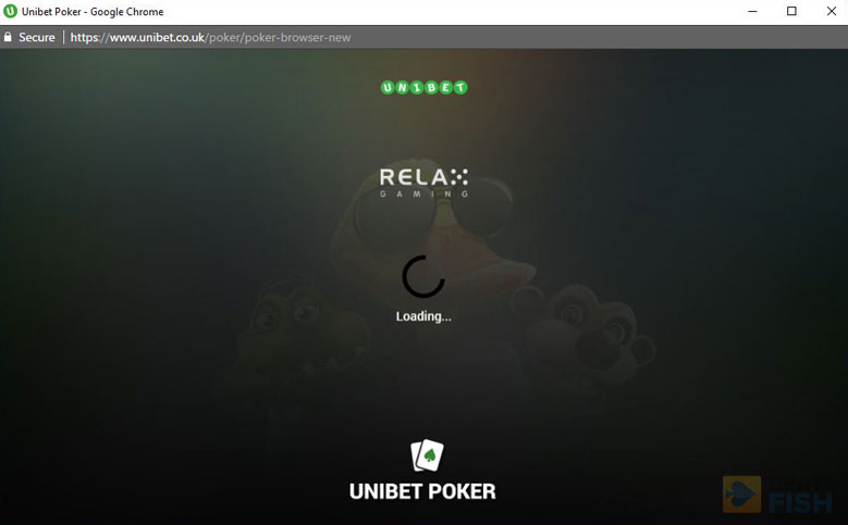 No Download Play at Unibet Poker