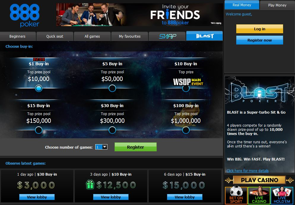 888 Poker Feels New Again