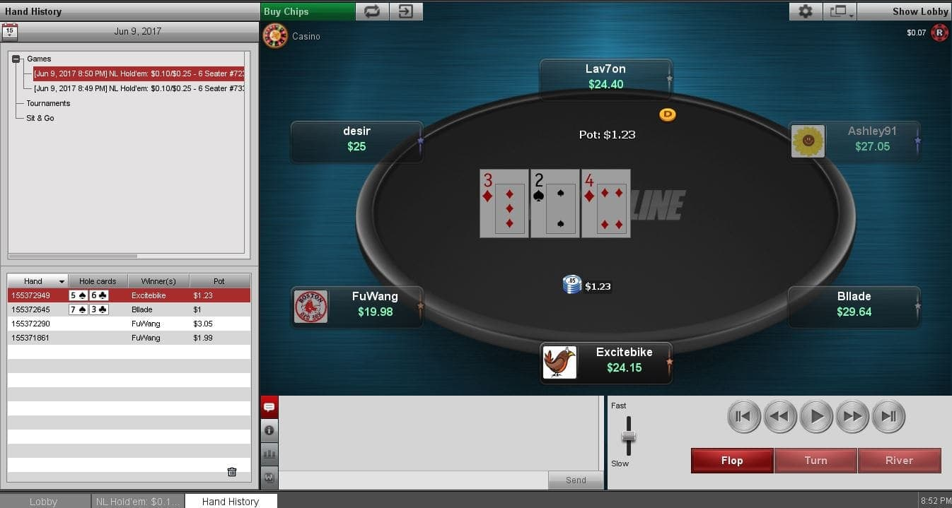 BetOnline Poker New Software