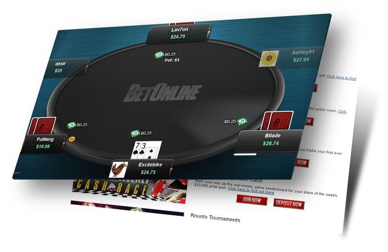 The New Software at BetOnline Poker