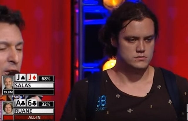 2017 Main Event final table