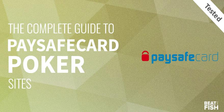 online poker echtgeld paysafecard
