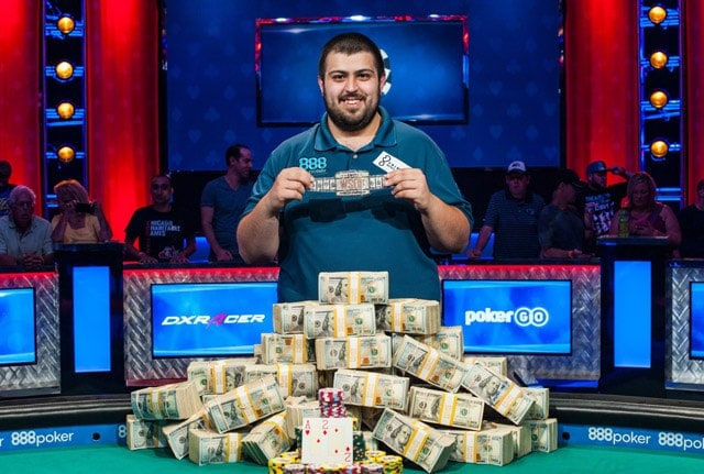 WSOP 2017 main event winner