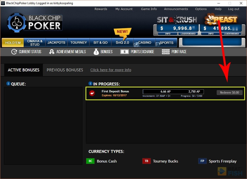 Black chip poker no deposit bonus code