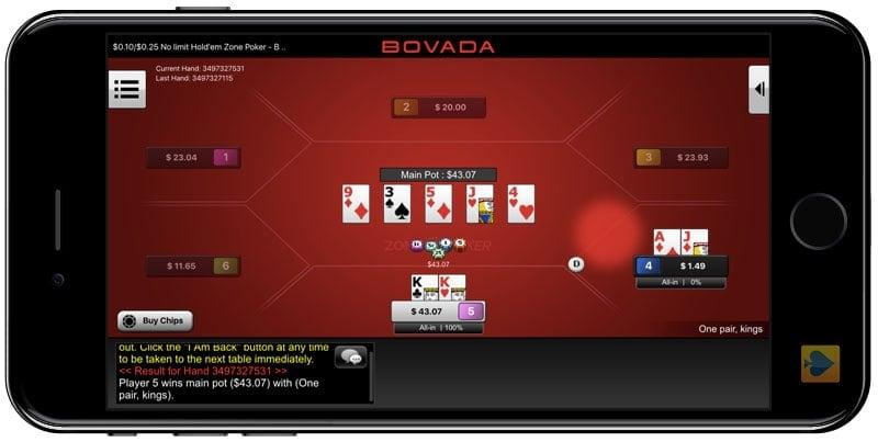 Bovada Poker iPhone App