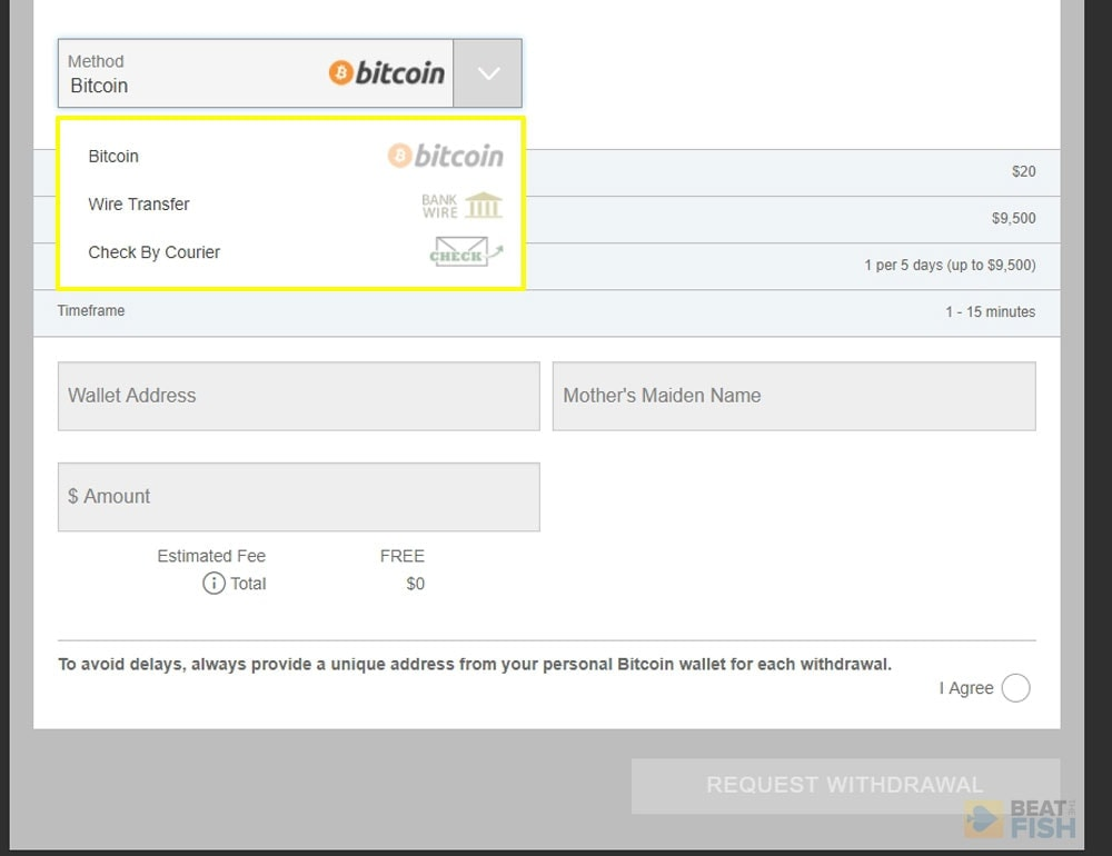 Bitcoin Withdrawal 5dimes Bitcoin Ethereum Litecoin Accepted
