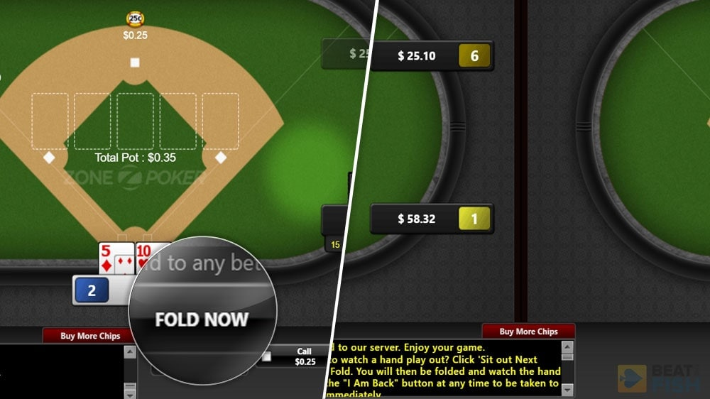 Bovada Quick Fold Poker