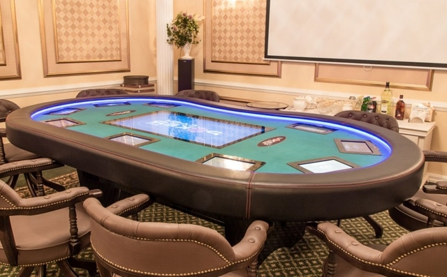 electronic poker tables