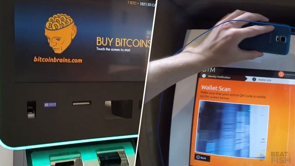 Depositing with a Bitcoin ATM