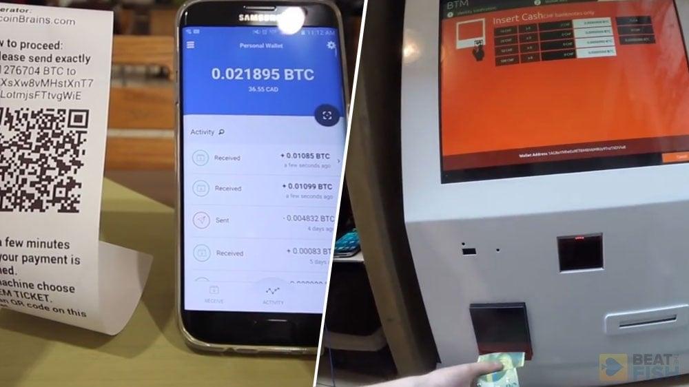 Using a Bitcoin ATM