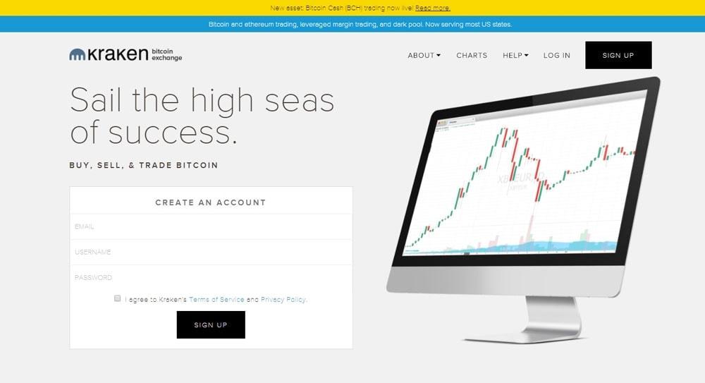 Kraken for Bitcoin Poker Exchanges