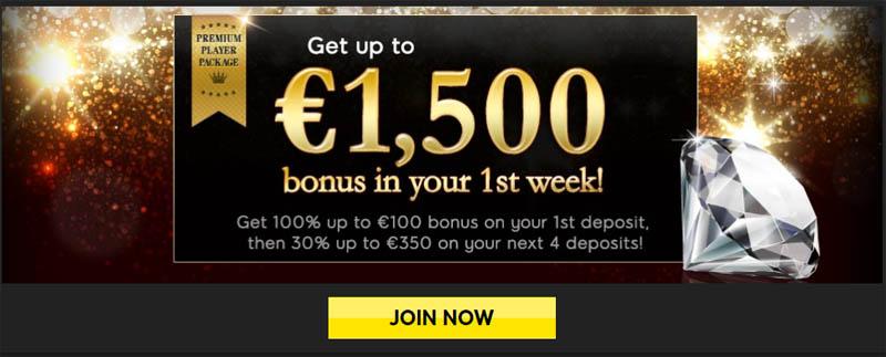 Premium Bonus at 888 Casino