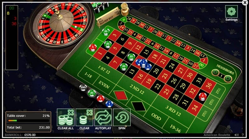Table Games at 888 Casino
