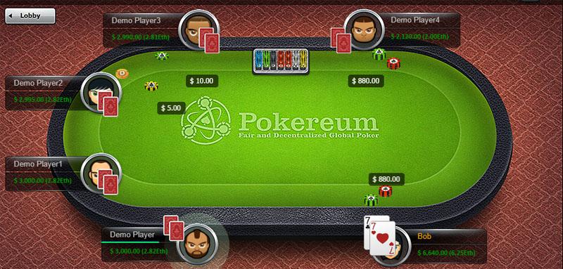 Ethereum online poker