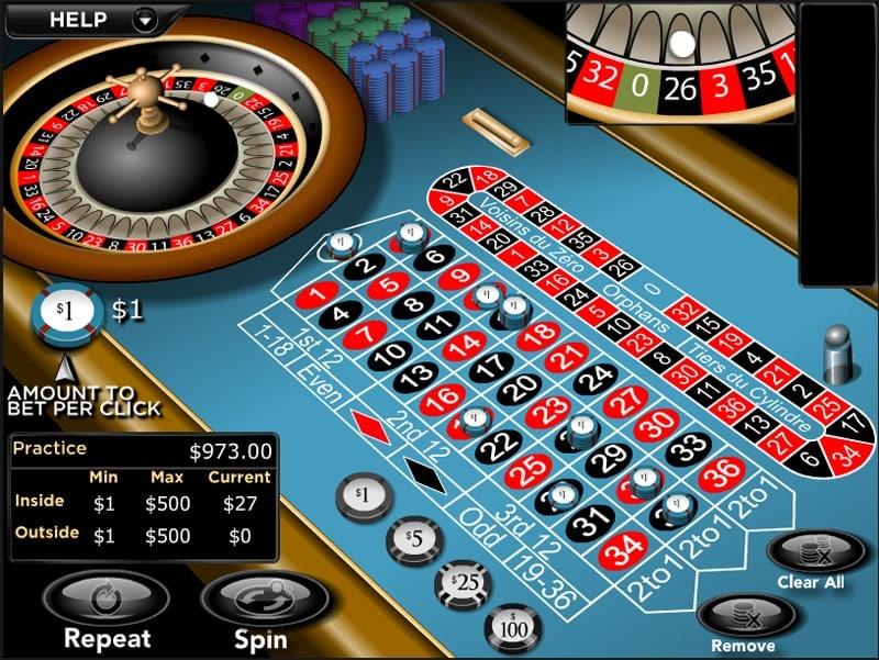 Roulette at Café Casino