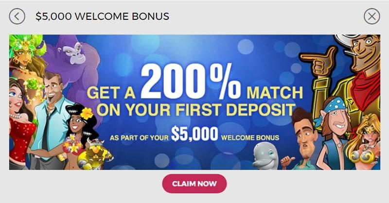 Slots.lv Casino Bonus
