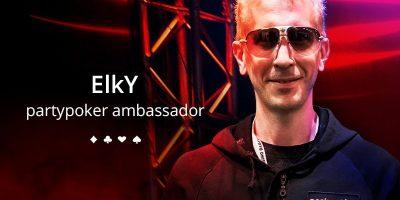 Bertrand 'ElkY' Grospellier Turns Party Poker Ambassador