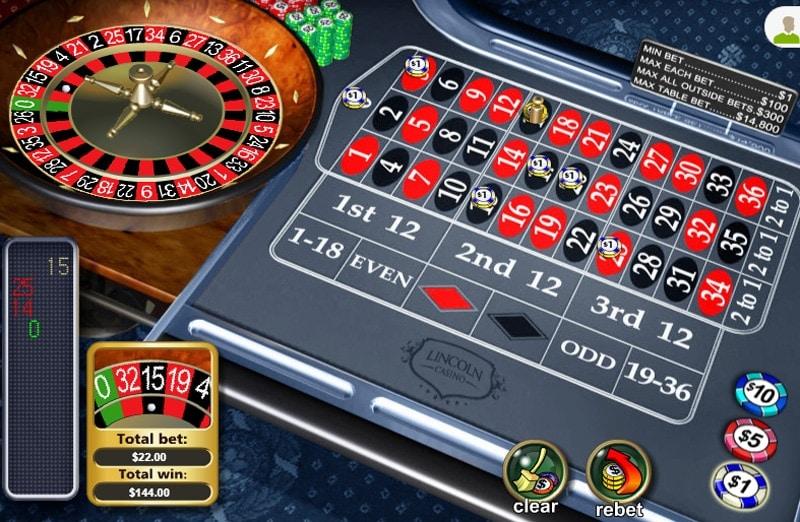 Lincoln Casino Roulette