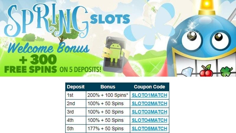 Sloto'Cash Casino Bonus