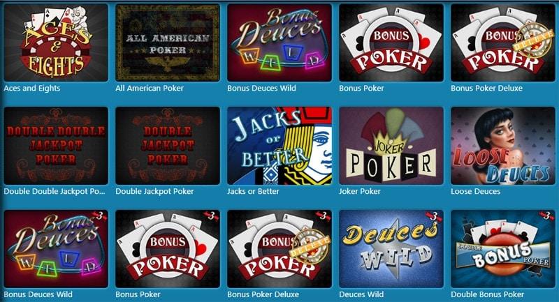Sloto'Cash Video Poker