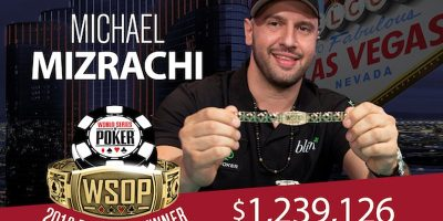 Michael Mizrachi Makes History: Third WSOP Players Championship Title