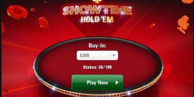 Showtime Hold'em: New Hold'em Variation at PokerStars