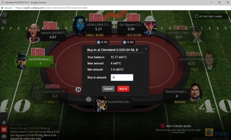 Nitrogen Poker Game Limits