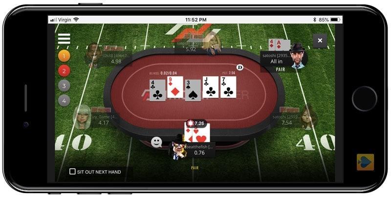 Nitrogen Poker App