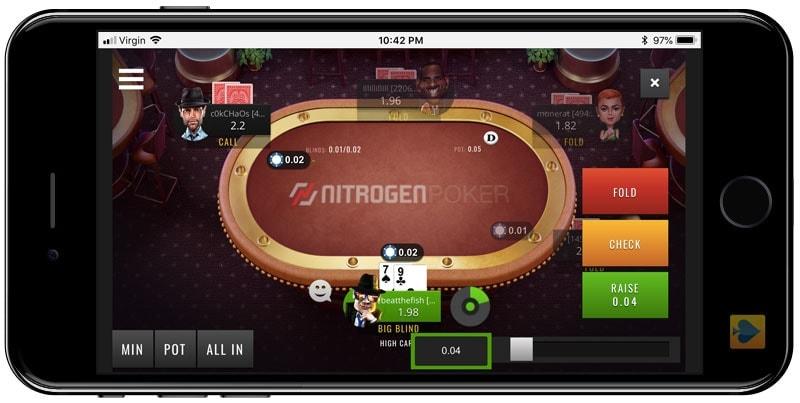 Nitrogen Poker Instant Play