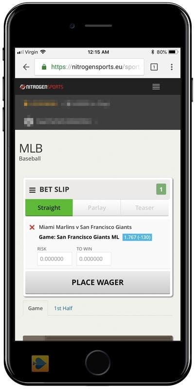 Nitrogen Sports Betting App