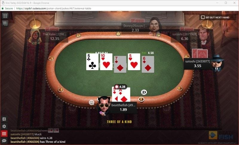 Nitrogen Poker Software Graphics