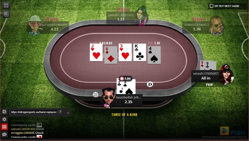 Nitrogen Poker No-Limit Hold'em