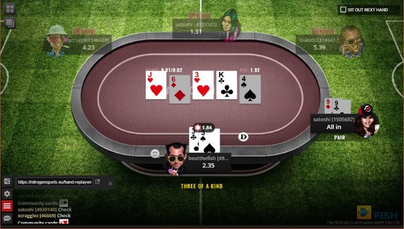 Nitrogen Poker No-Limit Hold'em
