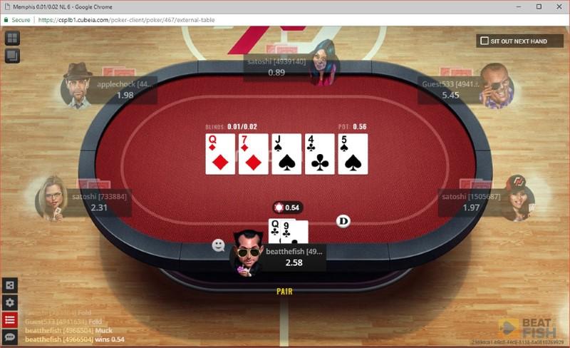 Nitrogen Poker Fish Rating