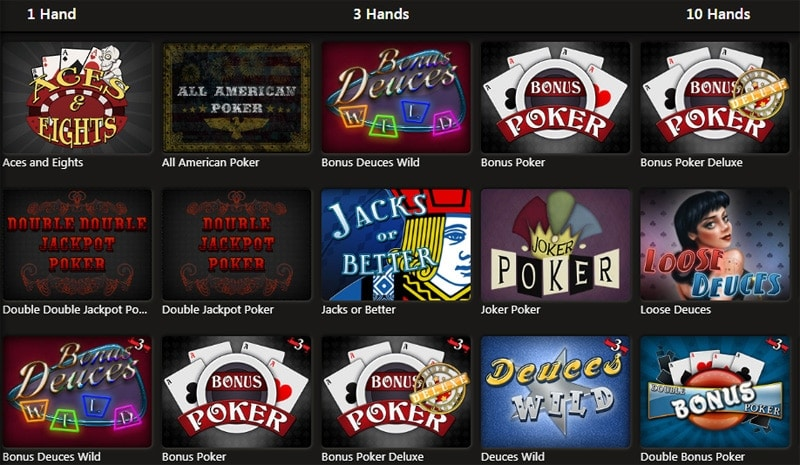 Diamond Reels Casino Video Poker