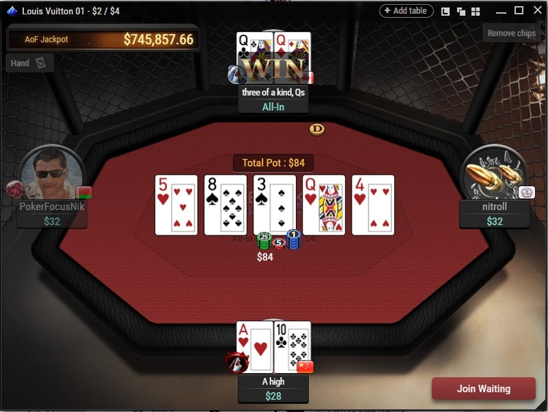 Breakout Poker Cash Game