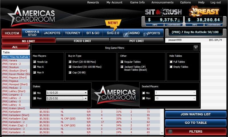 Winning Poker Network software