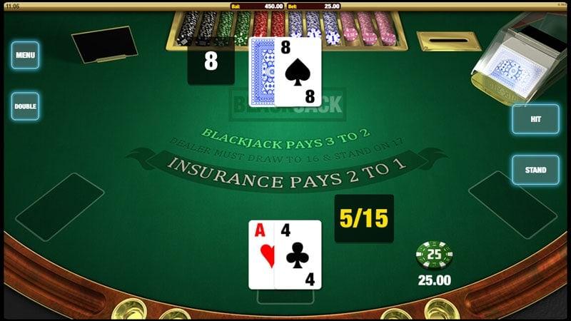 Cloud Casino Blackjack Table Game