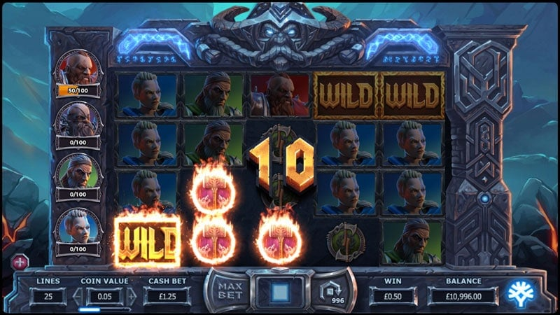 Vikings Gone Wild Slot