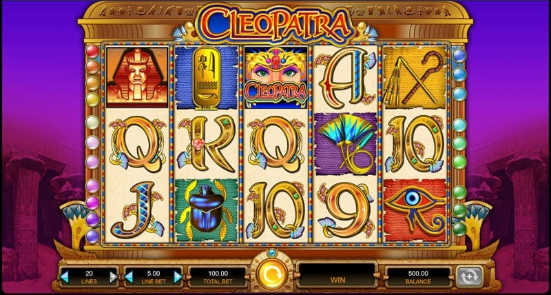 Cleopatra Slot from IGT