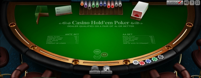 Lord of the Spins Casino Hold'em Poker