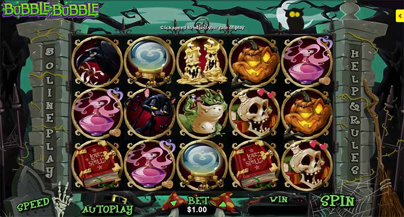 Bubble Bubble video slot game