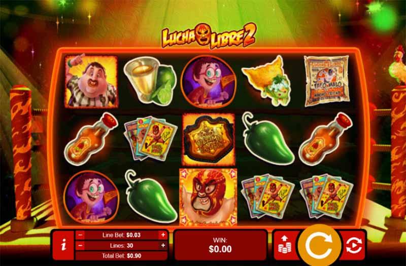 Lucha Libre 2 Slots RTG