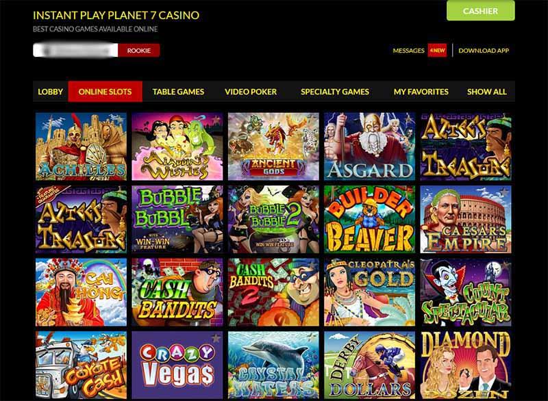 Planet 7 Casino Slots